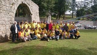 Gruppo a Casamari